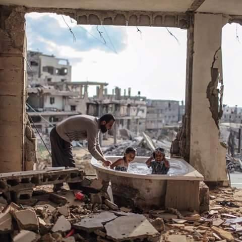 Your thoughts on this tragic pic from Gaza :(?