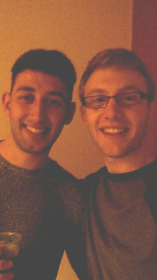 Is this a good enough photo of me and my friend to put as a Facebook profile. picture?