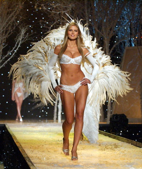 What body type did Heidi Klum have in her prime? I have a similar body type?