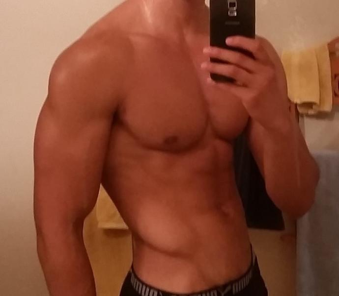 Rate my physique 1-10. Am I too small?