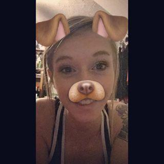 Post a picture with the puppy filter from snapchat?
