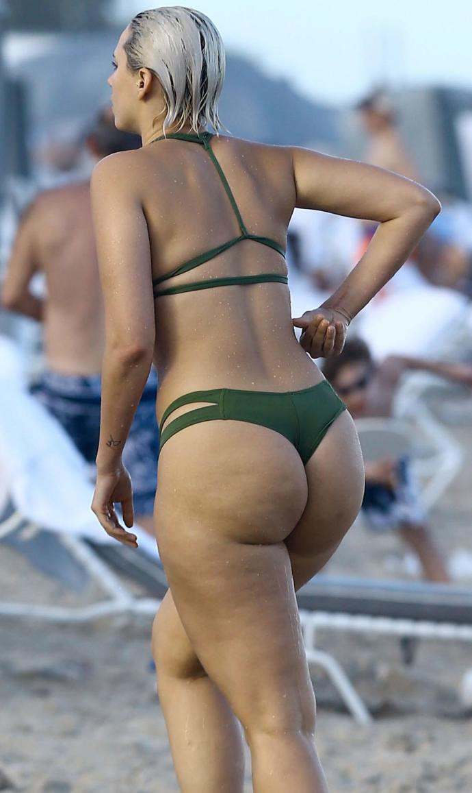 Are g-string bottoms starting to become standard at the beach for girls?