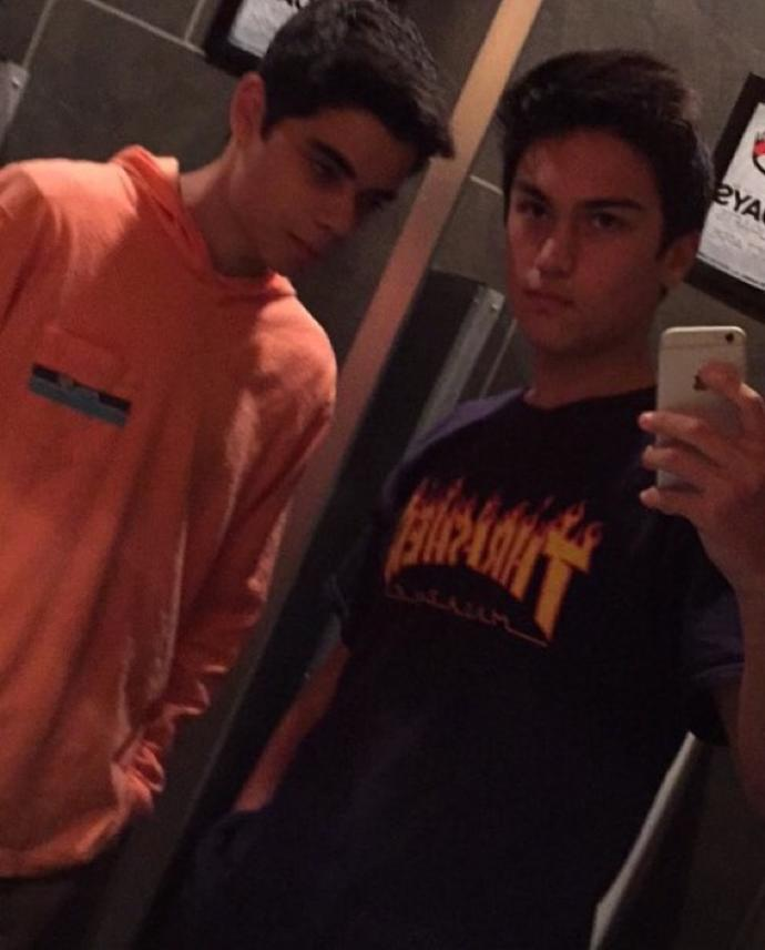 Can you guess wether we are brothers or not?