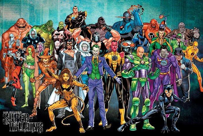 Who's your Super Villain?