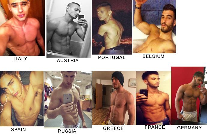 Girls, HONESTLY! who is the HOTTEST man in the picture ?