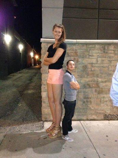 Tall girls are intimidating