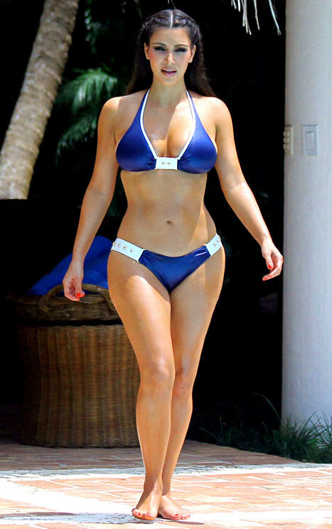 Don't you think Kim Kardashian has the most beautiful body?