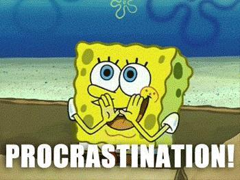 Whatis something you have to do right now but you don't want to do?