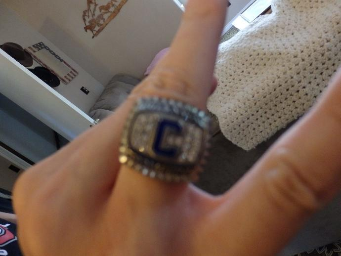 Who else on GAG has a championship ring?