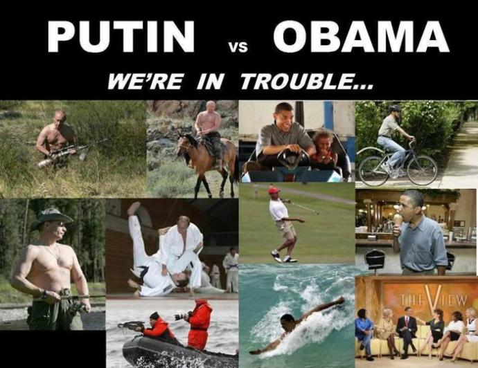 Vladimir Putin is Alpha Male while Obama is pure Beta. Agree/Disagree?
