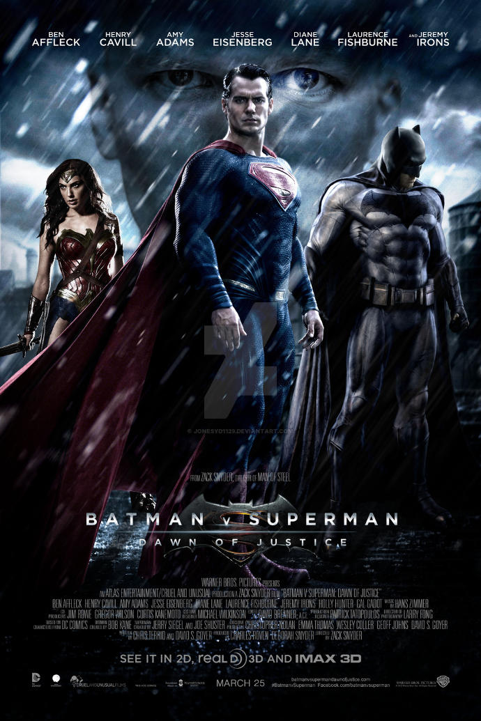 Which movie are you excited for the most? Batman v Superman: Dawn of Justice, Captain America: Civil War, X-Men: Apocalypse, or Suicide Squad?