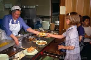 What do you think of cafeteria food and lunch ladies?