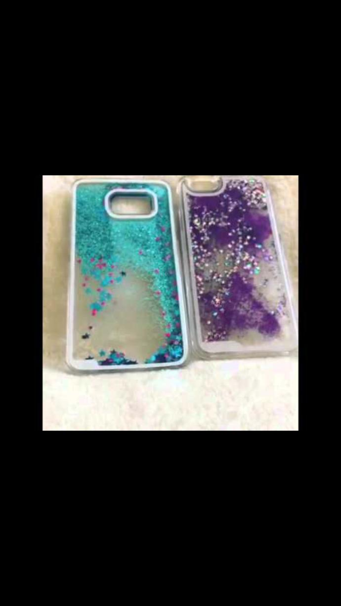 Are cases that have sparkles in them bad?