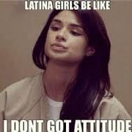 Do latinas and some Asian girls just naturally look bitchy?