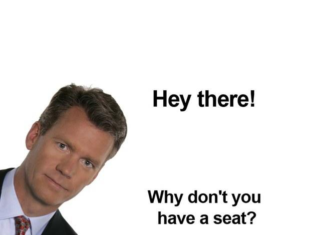 What would YOU do if Chris Hansen showed up at your house and asked you to take a seat?