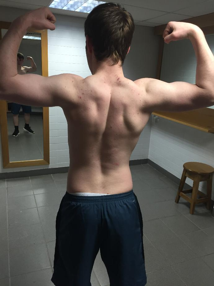 I've been at the gym a while now and I'm making some improvements?