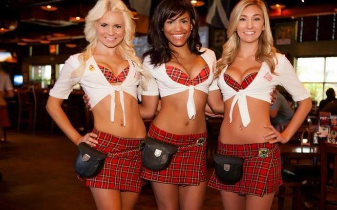 What's your opinion on establishments that have their employees wear revealing clothing?