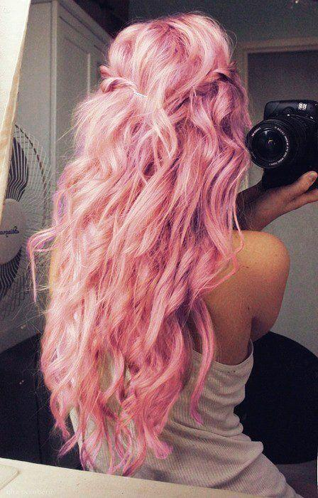 What Do you think about long pastel pink hair?