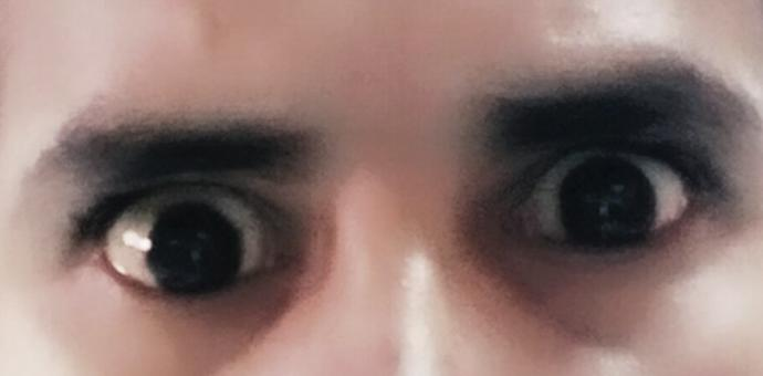 Are these eyes scary?