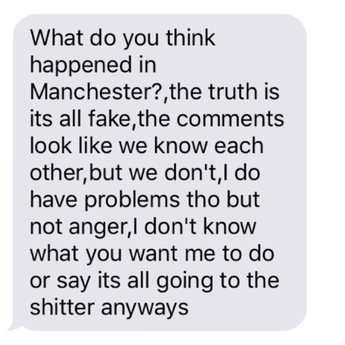 Husband dumped us 9 months ago. He sent this today. Does he regret leaving?