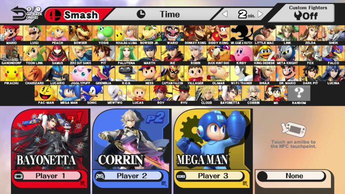 Who is/was your character of choice in Super Smash Bros?