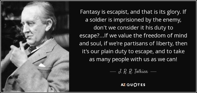 Have you read any of Tolkien's works?
