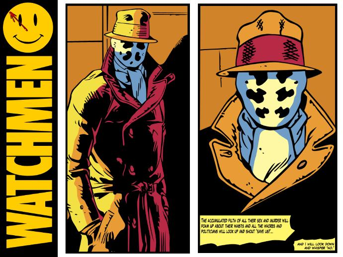 Do you consider Rorshach a hero from the Watchmen? What do you need to possess to be a hero in the first place (3 qualities please) ?