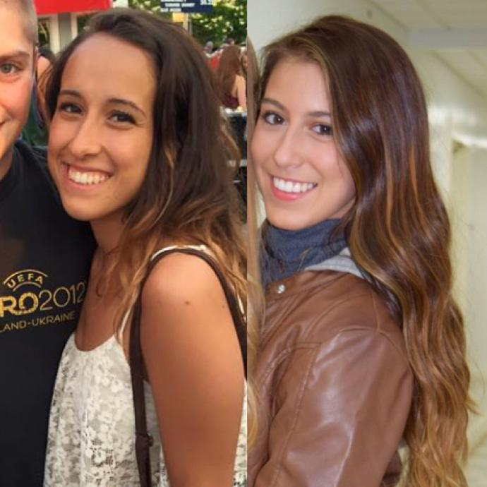 Do these girls look alike? Who is prettier?