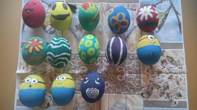 How do the last 4 eggs look 😂?