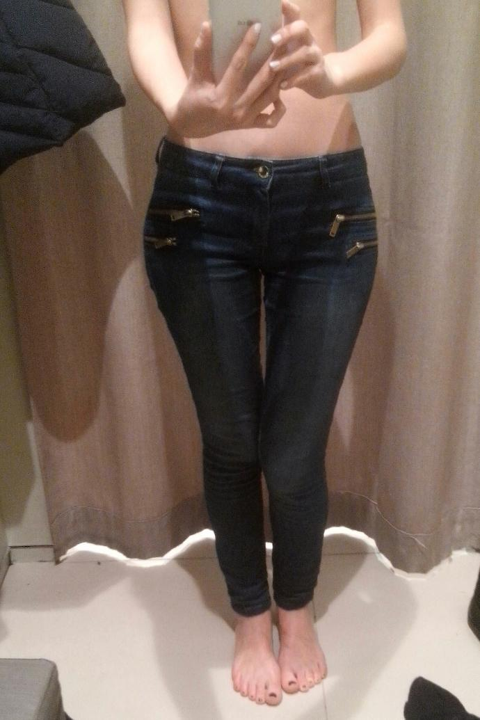 Guys, How do you like this jeans on me?photo?