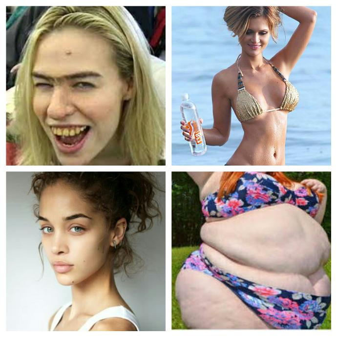 Girls which would you rather have, Hot body, ugly face or hot face, ugly body? No plastic surgery, no weight loss?