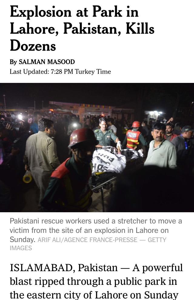 40 dead in suicide attack in Pakistan. Do you think anyone will give a flying fuck about this one?