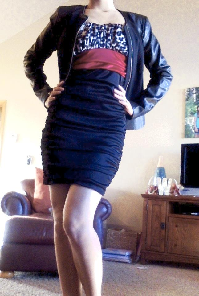 How is my body? ... and what do you think of the dress?