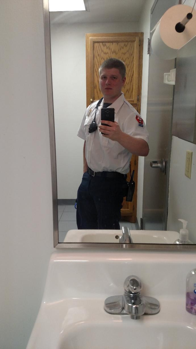 How do I look in uniform?