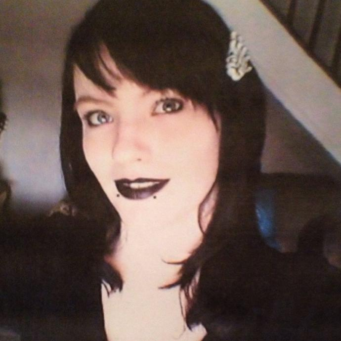 How do I look in my full (goth) makeup?