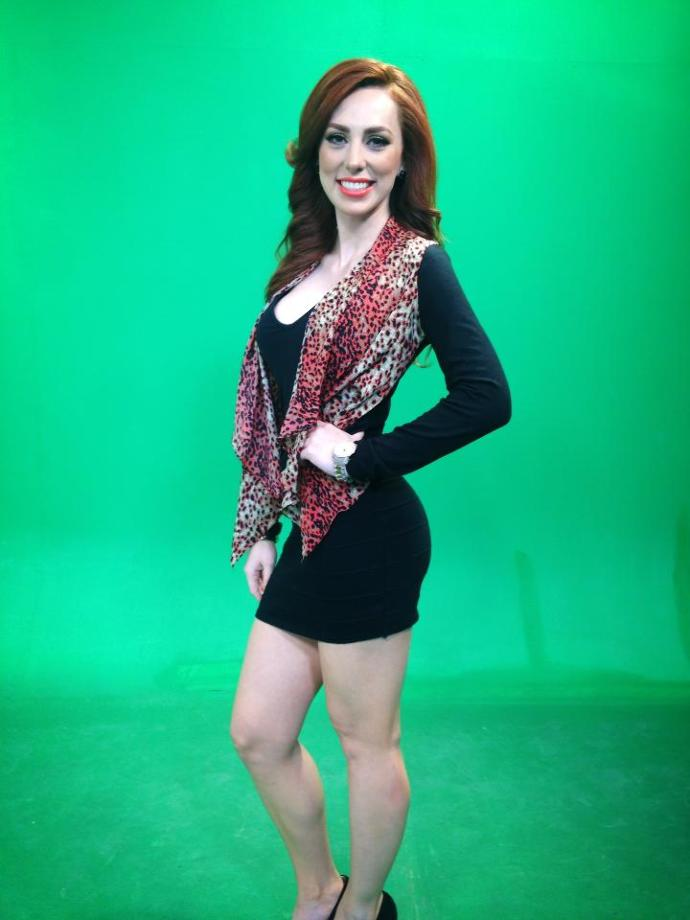 Is this transexual newsreporter from South America attractive ?