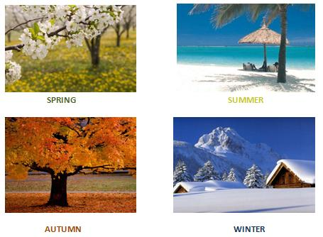 What's your favourite season , and why?