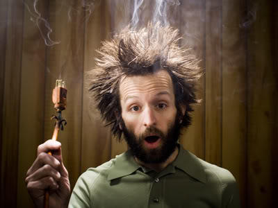 Have you ever been electrocuted before?