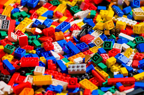 Choose wisely... Legos, Play-Doh or Lincoln Logs?