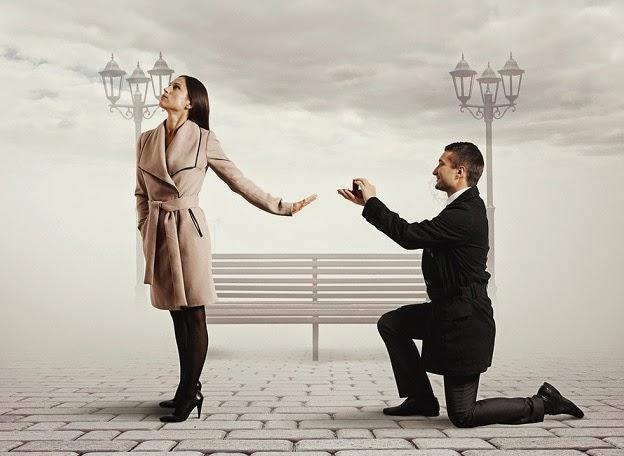 If a woman rejects your proposal is the relationship over?