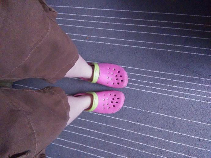 Is it weird to wear crocs in public?..