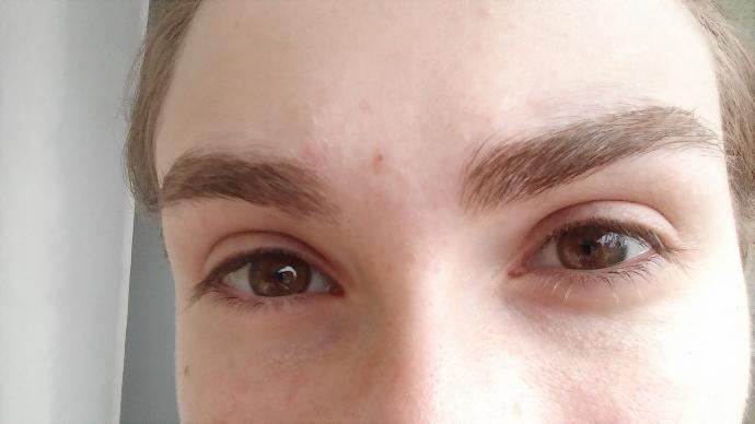 Do they look bushy(eyebrows)?