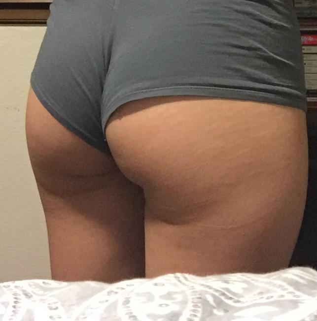 How does my butt look? I've been doing weighted squats for a few months now?