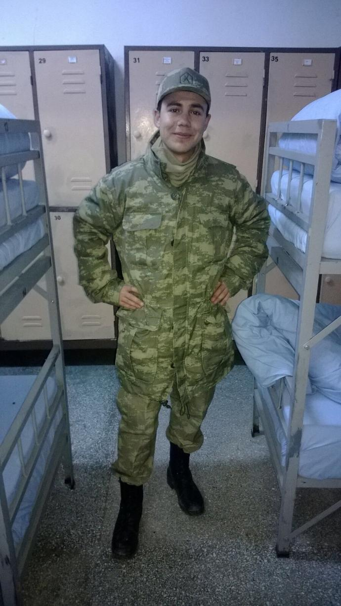 How do ı look?? I m soldier:)) ??