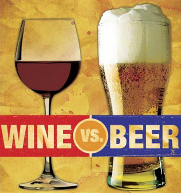 Wine vs beer. What do you prefer?