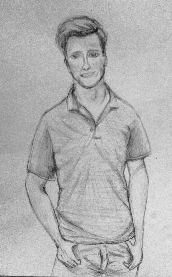 I draw my boyfriend...how do u like it?