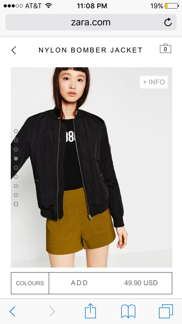 Is it reasonable to get a bomber jacket right now ?