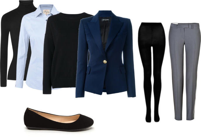 How does this outfit look for a cold office?