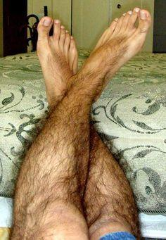 Girls, what do you think of extremely hairy legs on guys?
