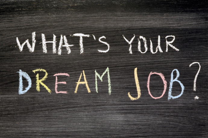 Does your current job is different from your dream job ?